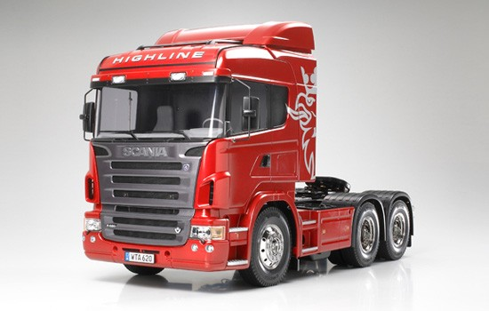 tank rc bulldozer camions scania r x tamiya  p