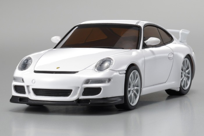 fx 101 dnano porsche 911 gt3 blanche kyosho. Black Bedroom Furniture Sets. Home Design Ideas