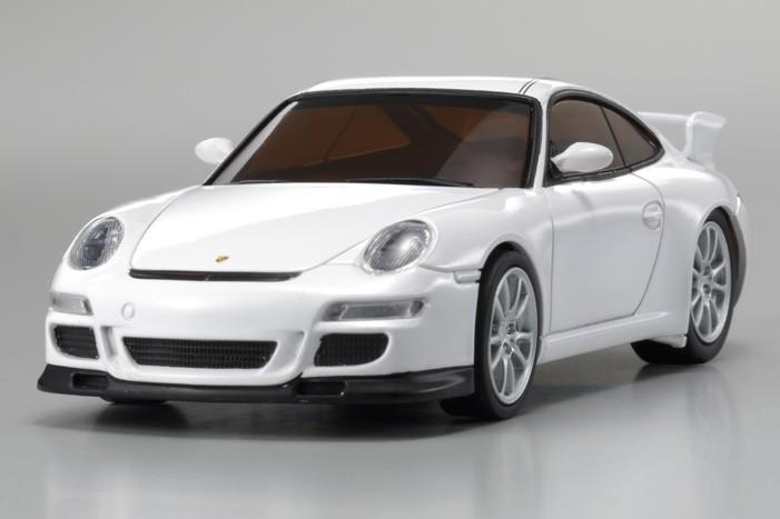 fx 101 dnano porsche 911 gt3 blanche kyosho. Black Bedroom Furniture Sets. Home Design Ideas