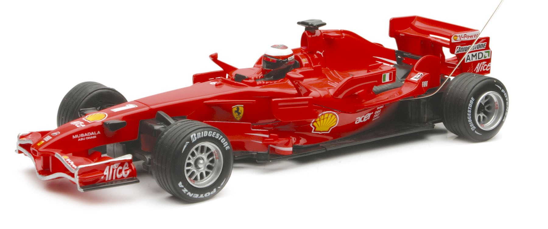 formule 1 ferrari f 2008 n1 kimi raikonen 40 mhz nry 89575a miniplanes. Black Bedroom Furniture Sets. Home Design Ideas