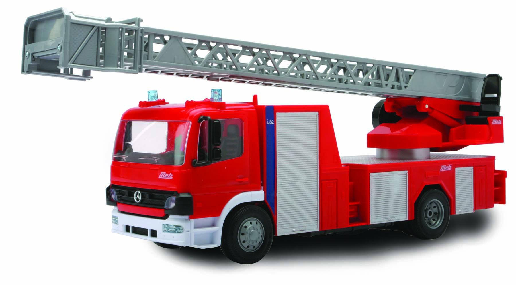 Camion pompier mercedes benz rdc 1 22 miniplanes - Image camion pompier ...
