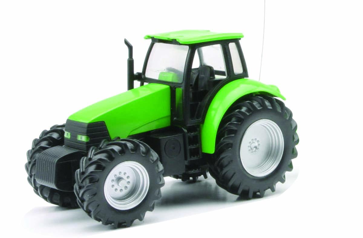 tracteur de ferme vert rc 1 32 nry 87833b miniplanes. Black Bedroom Furniture Sets. Home Design Ideas