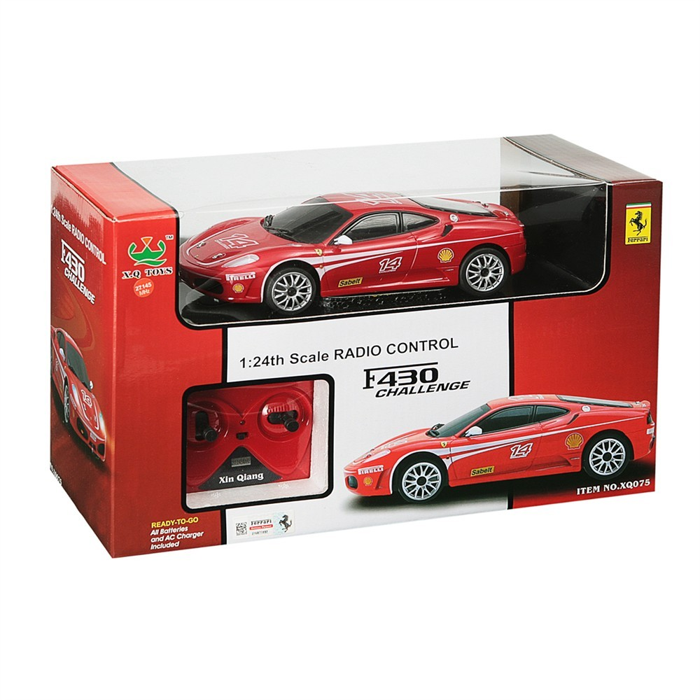 Cenário 3d Ferrari F430 Modelo 3d: Ferrari RC F430 1/24 Mondo Motors - T2M-MO63067