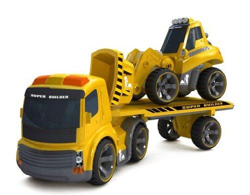 tank rc bulldozer camions camion silverlit p