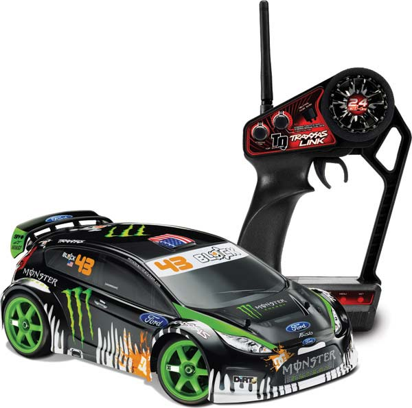 ford fiesta ken block gymkhana rtr vxl 2 4ghz miniplanes. Black Bedroom Furniture Sets. Home Design Ideas
