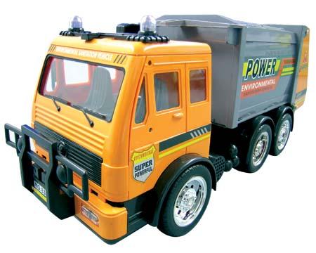 camion poubelle telecommande. Black Bedroom Furniture Sets. Home Design Ideas