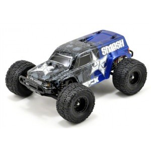 Smash Monster Truck bleu 2WD 1/18 RTR