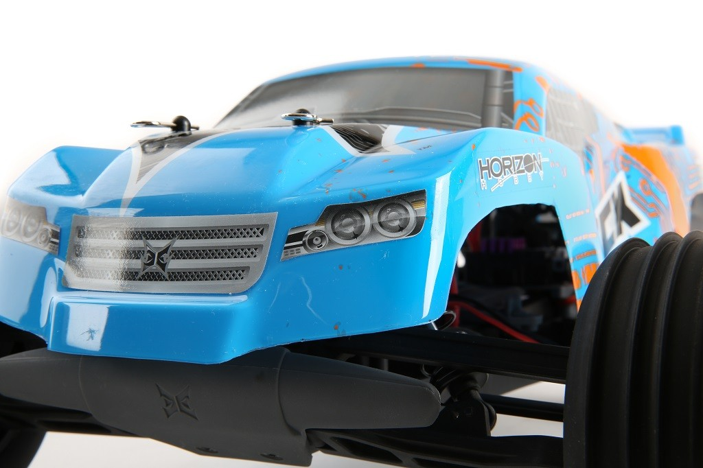 Ecx Circuit Stadium Truck 1 10 2wd Rtr Orange Bleu Ecx03130it2 Miniplanes