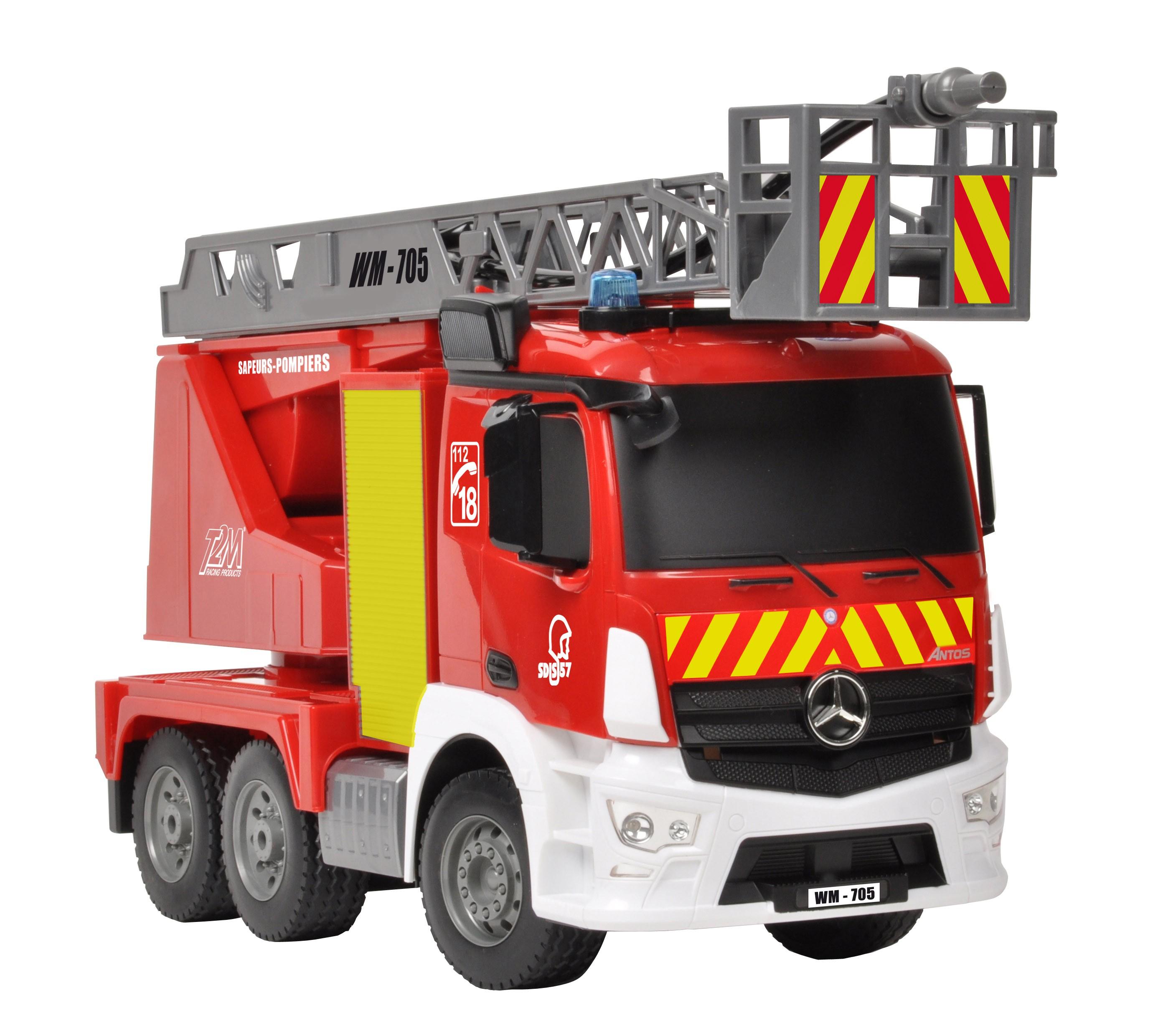 Camion de pompiers rc t2m 1 20 t2m t705 miniplanes - Image camion pompier ...