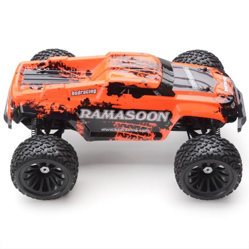 monster truck 4x4 ramasoon brushed rtr kit orange bsd916t or miniplanes. Black Bedroom Furniture Sets. Home Design Ideas