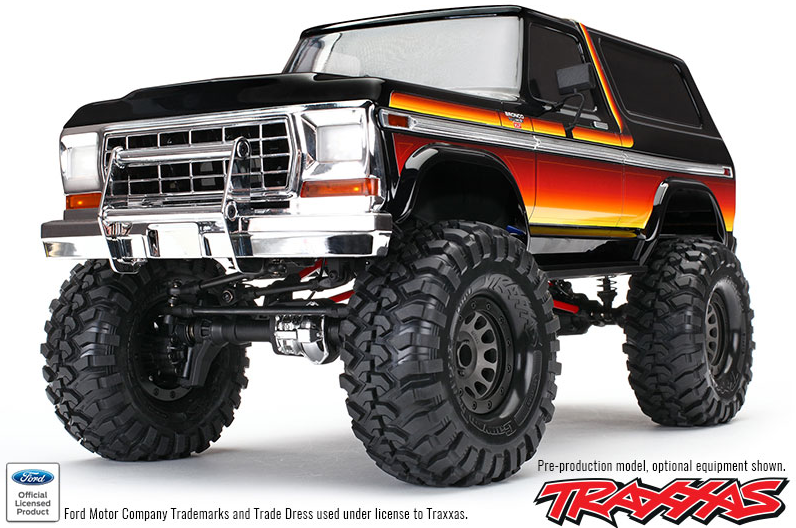 Traxxas Ford Bronco Ranger XLT TRX-4 1/10 RTR 4WD - 82046 ...