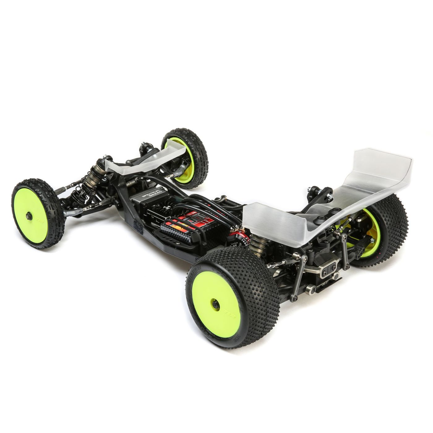 22 5.0 TLR234095 Team Losi Racing Front Arm Set Stiffezel