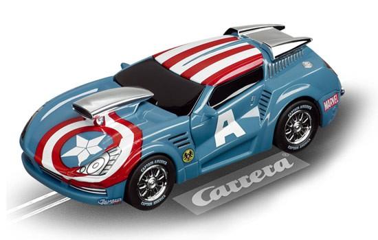 the avengers 39 captain america 39 carrera 1 43 t2m ca61255 miniplanes. Black Bedroom Furniture Sets. Home Design Ideas
