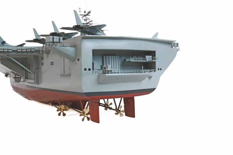 Wp uss nimitz graupner grp 2212 miniplanes for Porte avions gerald r ford