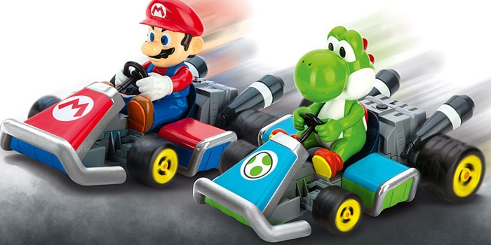 voiture radiocommand e 1 16 carrera mario kart 7 yoshi 162061 miniplanes. Black Bedroom Furniture Sets. Home Design Ideas