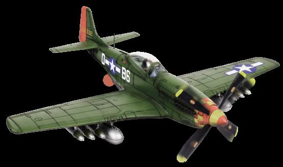 Force Of Valor Miniature Avion 80523 P 51d Mustang 1 32e
