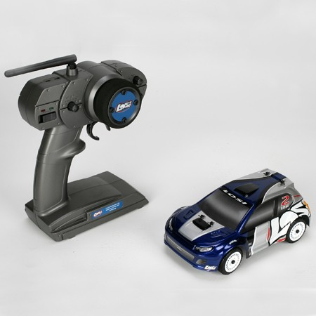losi voiture micro rally car bleue 1 24 brushless avec radio 2 4ghz losb0243it1 miniplanes. Black Bedroom Furniture Sets. Home Design Ideas