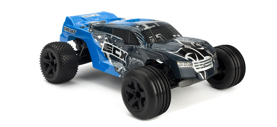 circuit 2wd stadium truck 1 10 noir argent rtr ecx03050it1 rh miniplanes fr