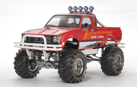 toyota 4x4 pickup mountain rider tamiya 1 10 tam 84386 miniplanes. Black Bedroom Furniture Sets. Home Design Ideas