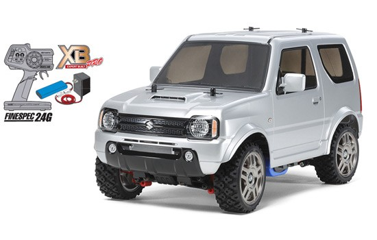 suzuki jimny mf01x tamiya 1 10 tam 57888 miniplanes. Black Bedroom Furniture Sets. Home Design Ideas