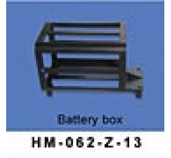 HM-62B-Z-13 Support de batteries Walkera - HM-62B-Z-13