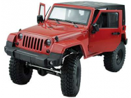AMXrock Crawler Wild Red Realistic Scaled Body+Seilwind - 22150