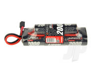 SuperpaX 9.6V 8-Cell 2000mAh NiMH, 6-2 Hump, HCT - RDNA0095