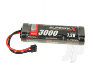 SuperpaX 7.2V 6-Cell 3000mAh NiMH, Stick, HCT - RDNA0096