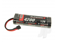 SuperpaX 7.2V 6-Cell 4200mAh NiMH, Stick, HCT - RDNA0099