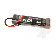SuperpaX 8.4V 7-Cell 4200mAh NiMH, 6-1 Stick, HCT - RDNA0100