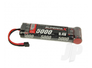 SuperpaX 8.4V 7-Cell 5000mAh NiMH, 6-1 Stick, HCT - RDNA0103