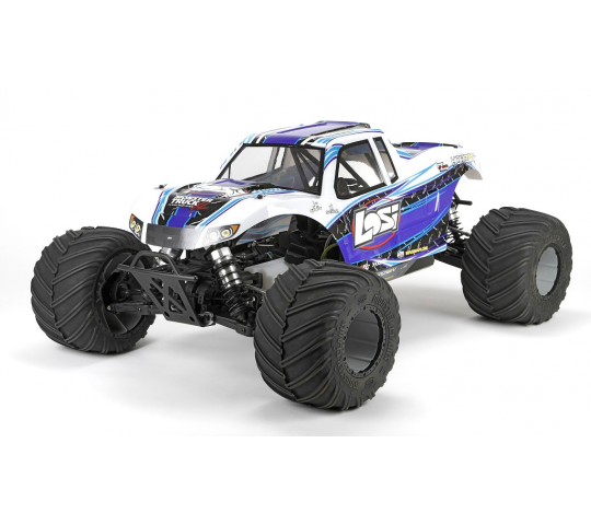 Losi Monster Truck XL 1/5 4WD RTR Blanc - LOS05009T2