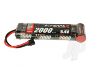 Superpax SC 8.4V 7-Cell 2000mAh NiMH, 6-1 Stick, HCT - RDNA0093