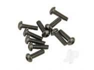 M3x10mm Button Head Cap Screw (10) Helion - HLNS1165