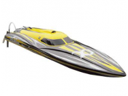 SpeedBoat ALPHA 1060mm 4-6S Jaune Flame Scheme - 26054