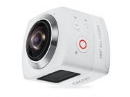 OKAA 360 Degree Panoramic Sports Action Camera WiFi 1440P 30FPS Blanche - 1041086-SY15SPC-WHT-TBC