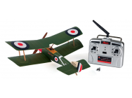 Sopwith Pup Ultra-Micro RTF et Radio Hitec Red  - AZSA1500