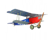 Fokker DVII Micro Pret a Binder (PTF - Pair-To-Fly) (Hitec Red) - AZSA1802