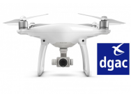 Phantom 4 Homogue DGAC S1 & S3