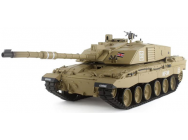 CHAR D'ASSAUT RC 1/16 BRITISH CHALLENGER 2 METAL (BRUIT / FUMEE) 2,4GHz - 3908-2