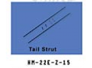 HM-22E-Z-15 Support de tube de queue Walkera - HM-22E-Z-15