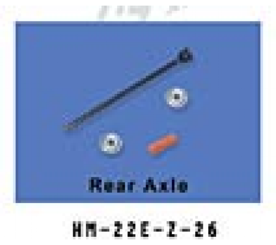 HM-22E-Z-26 Set axe anticouple Walkera - HM-22E-Z-26