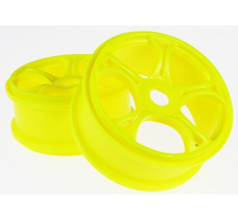 MV37001Y RACING WHEELS (YELLOW) (2)  jp-9923795 - JP-9923795