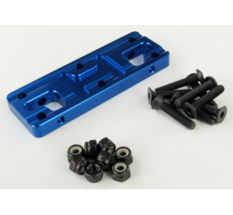 SEM1403B BUMPER BASE (7MM ALU BLUE) (1)  jp-9925700 - JP-9925700