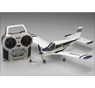 Minium Piper 4 voies Cherokee Complet 2.4 ghz Bleu Kyosho - KYO-10751RS-BL