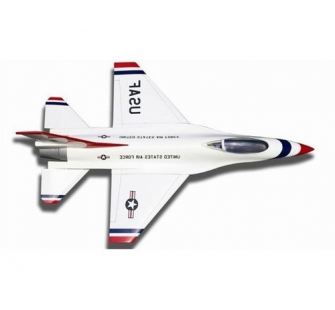 F-16 Fighting Falcon DF55 PIP edition limite blanc/rouge Kyosho - KYO-10281RB