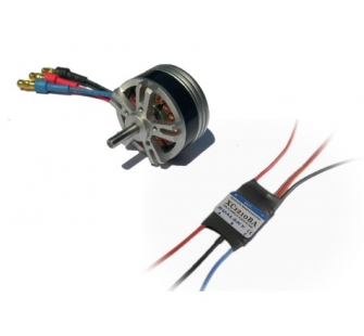 Combo brushless 2822-24 (30g) + controleur 12A DSK-XM282224-12 - XM282224-12