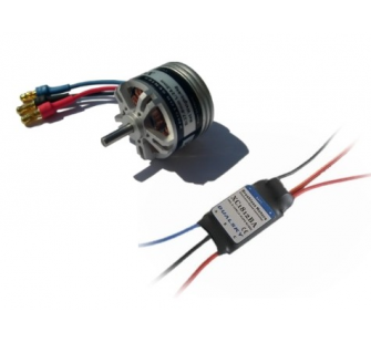 Combo brushless 2826-18 (44g) + controleur 18A DSK-XM282618-18 - XM282618-18