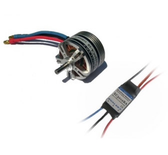 Combo brushless 3530-12 (74g) + controleur 30A DSK-XM353012-30 - XM353012-30