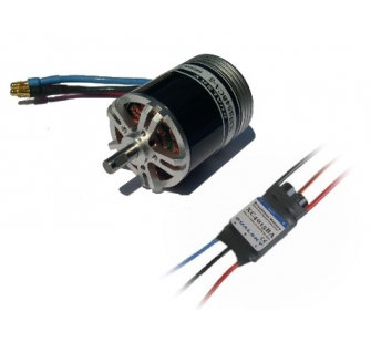 Combo brushless 3548-5 (165g) + controleur 40A DSK-XM35485-40 - XM35485-40